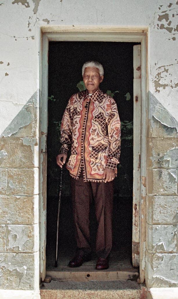 # 5 Nelson Mandela. Constitution Hill, der Ort des berüchtigten Old Fort-Gefängniskomplexes in Johannesburg.