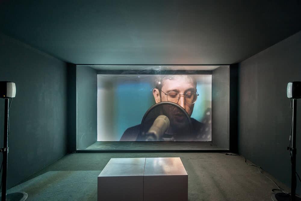 Lawrence Abu Hamdan, Walled Unwalled, 2018. Abraaj Group Art Prize Winner 2018. Courtesy of Photo Solutions.
