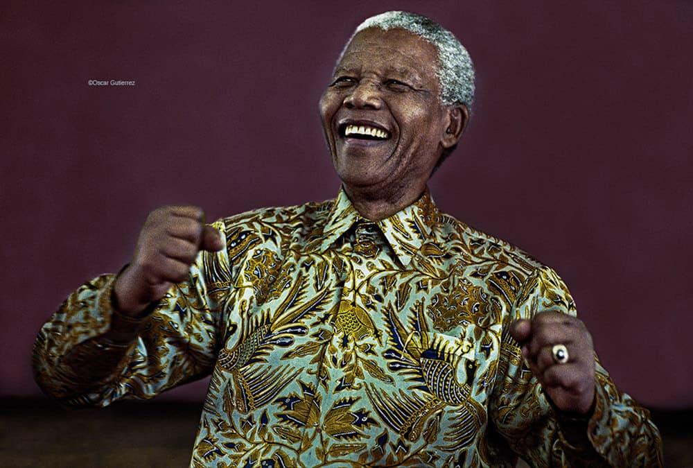 Nelson Mandela - Soweto 2000