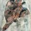 Florine Demosthene, The Last Remnants (Collage on mylar 61x91cm x 24 1/8.2x35 7/8in)