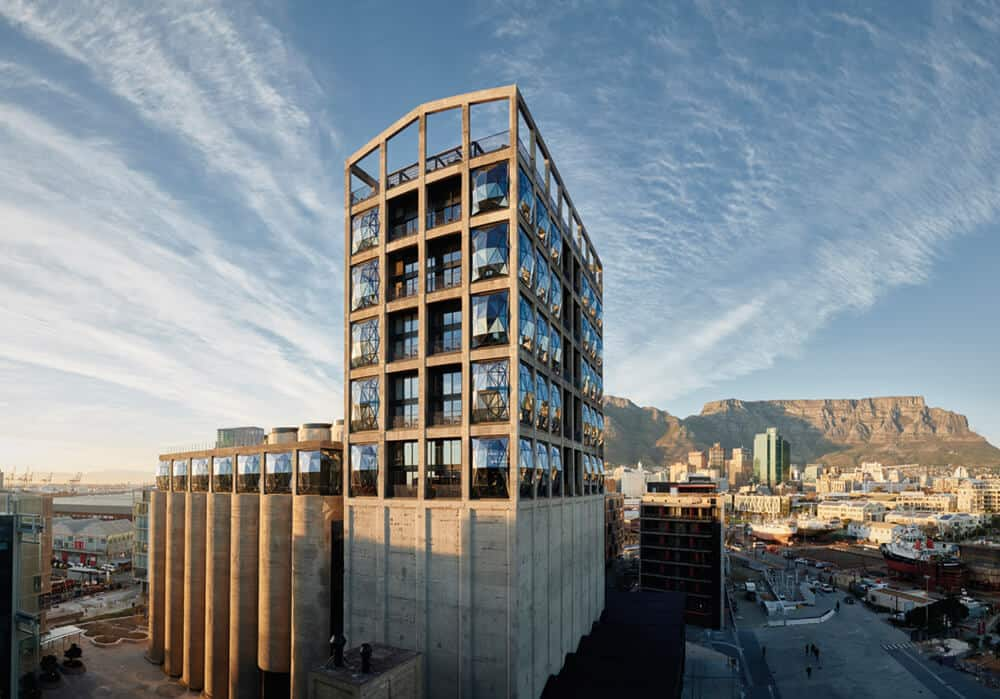 Zeitz MOCAA at the V&A Waterfront, Cape Town, South Africa. Photographer: Mark Williams.