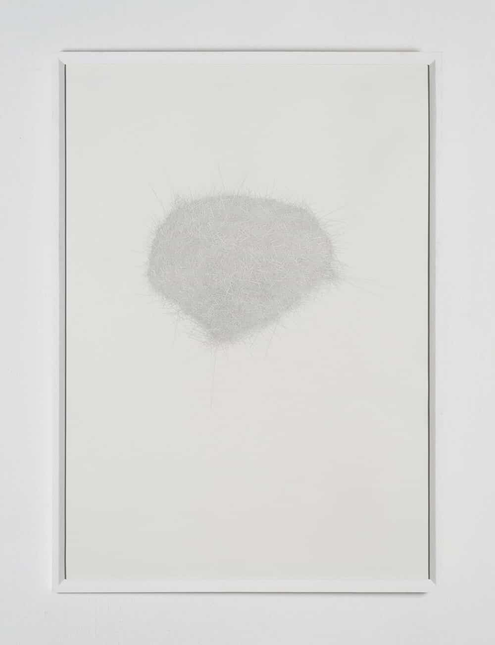 Runner-up: Peter Mikael Campbell (Cape Town), Kaisen. Pencil, 102,5 x 73,5cm.
