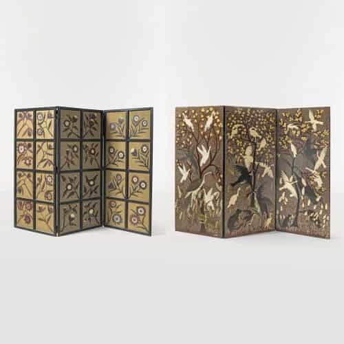 ilipili Mulongoy (c. 1914-2007), Bela (c. 1920- c. 1968) et Raphaël Kalela, Sans titre, 1952. Estimate : 150000 / 200000 €