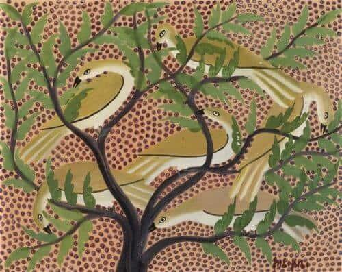 Pilipili Mulongoy (c. 1914-2007), Sans titre. Estimate : 6000 / 9000 €