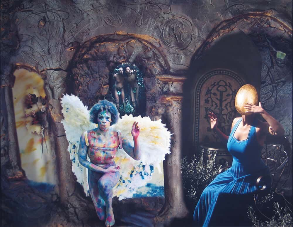 Tracey Rose, L'Annunciazione after Fra Angelico, 2004. Light jet Print on Paper.