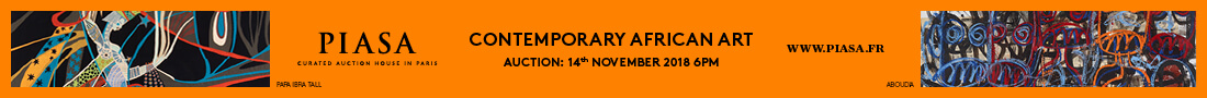 PIASA: Contemporary African Art - 14 November 2018