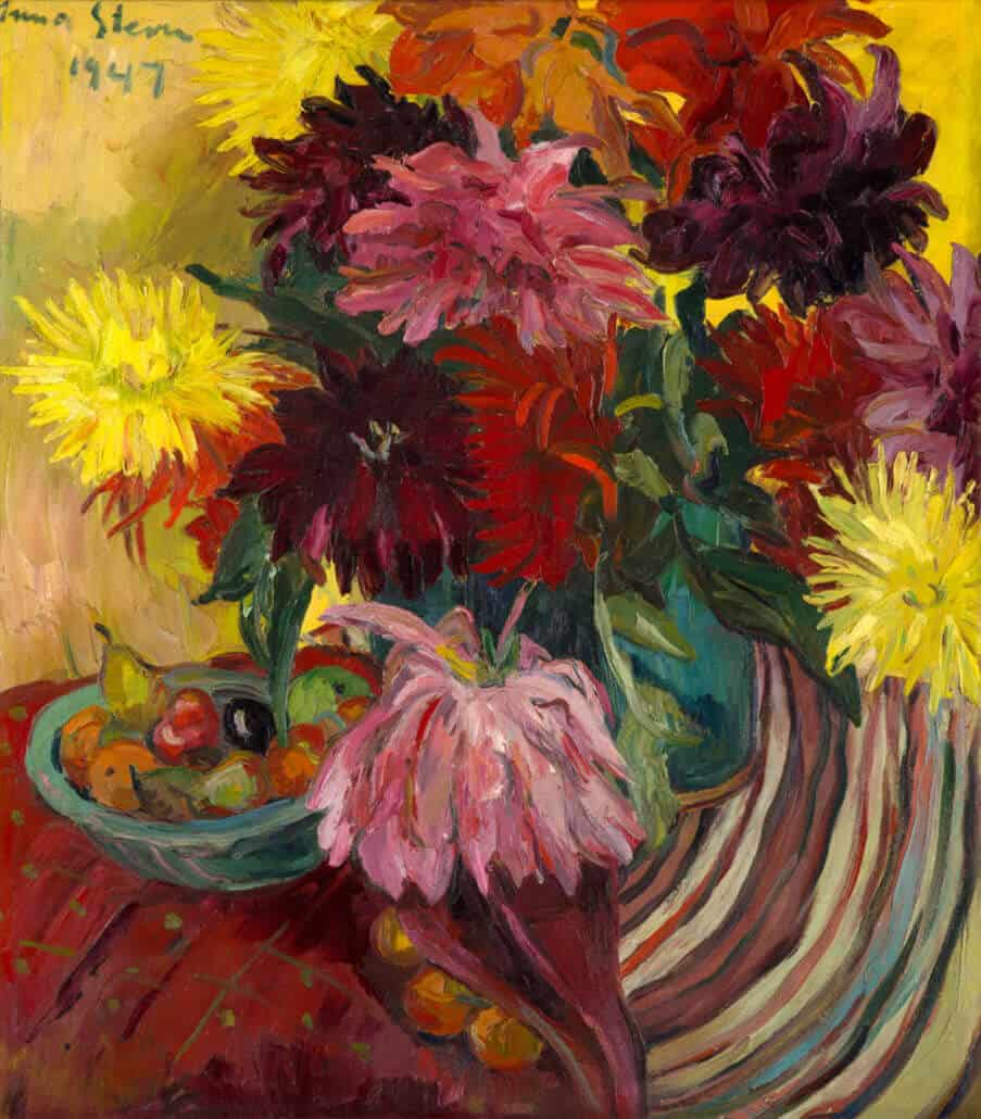Irma Stern | Dahlias | R8 - 12 million