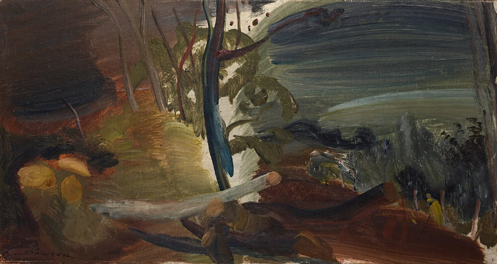 Ivon Hitchens | Felled Trees | R 500 000 - 700 000