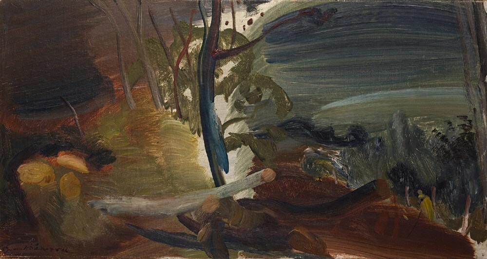Ivon Hitchens | Gefällte Bäume | R 500 000 - 700 000