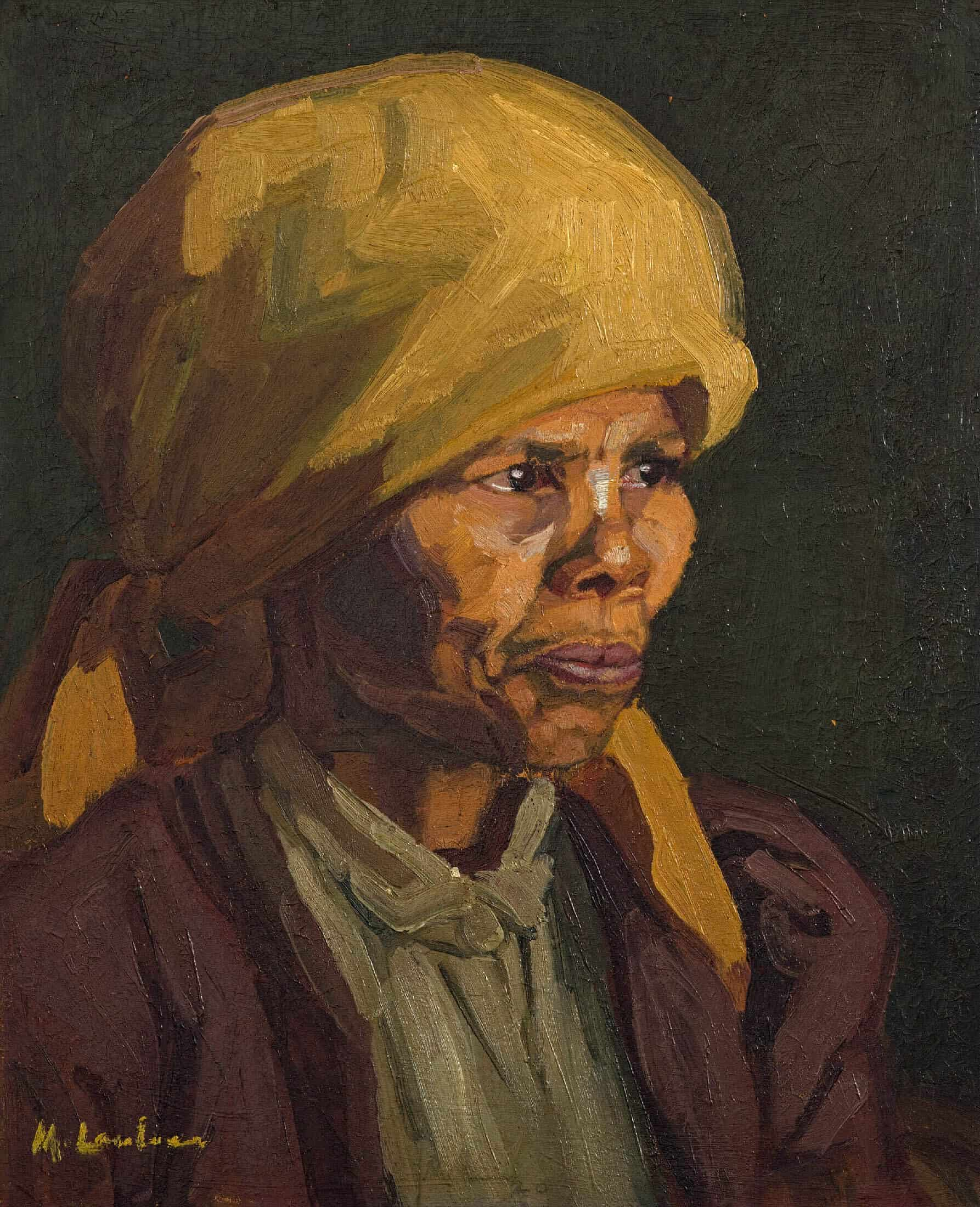 Maggie Laubser, Mietje. SOLD R1 138 000