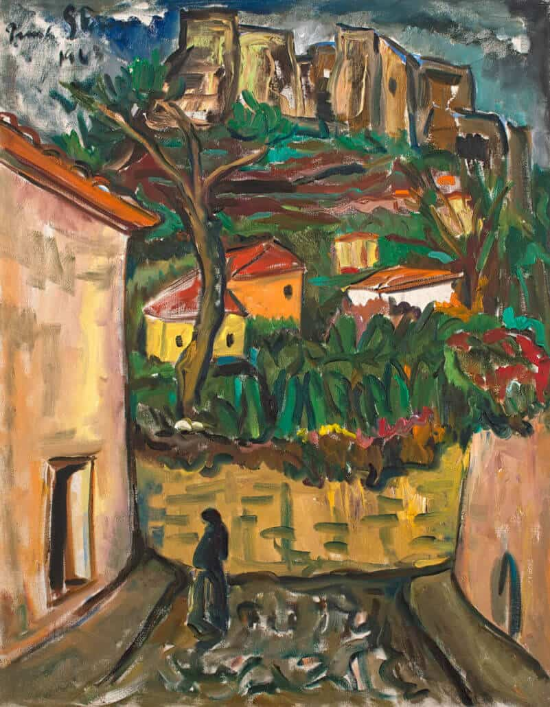 Irma Stern | Castle, Madeira | R2 - 3 million