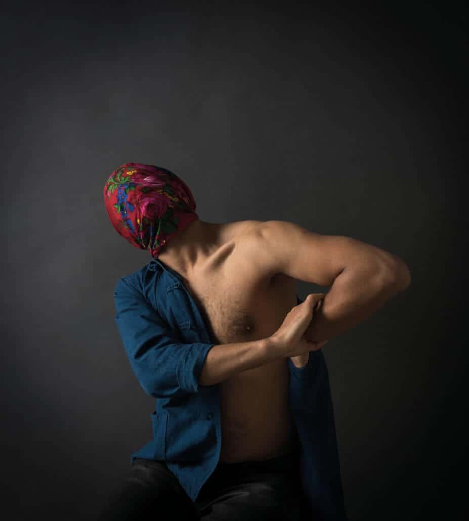 Héla Ammar, From the series A fleur de peau, 2018. © Héla Ammar