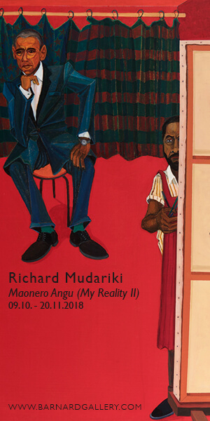 Barnard Gallery - Richard Mudariki: Maonero Angu (My Own Reality II)