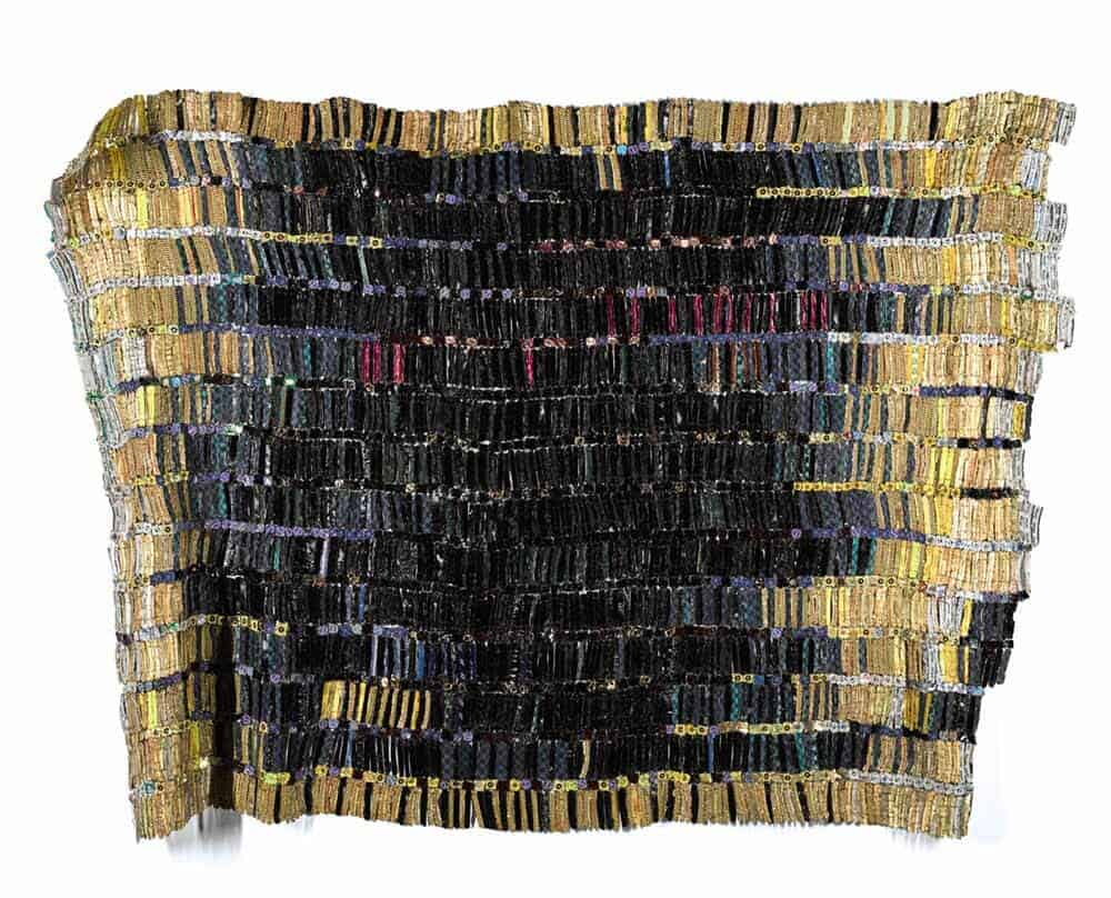 El Anatsui (Ghanaian, b.1944), Tagomizor, 2005. Aluminium bottle caps and copper wire. Estimate: £550,000-750,000 © El Anatsui