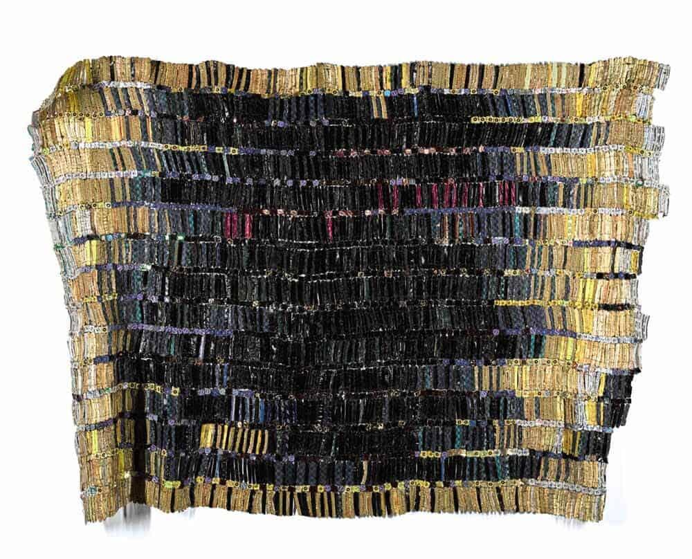 El Anatsui (Ghanaian, b.1944),Tagomizor, 2005. Aluminium bottle caps and copper wire. Estimate: £550,000-750,000© El Anatsui