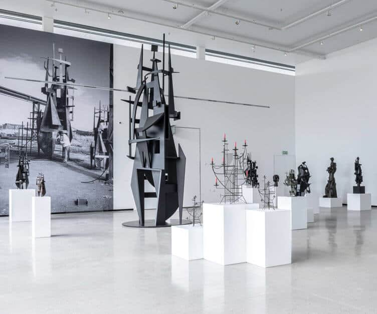 Edoardo Villa's retrospective as part of 'Re/discovery and Memory' at the Norval Foundation. Courtesy of the Norval Foundation.