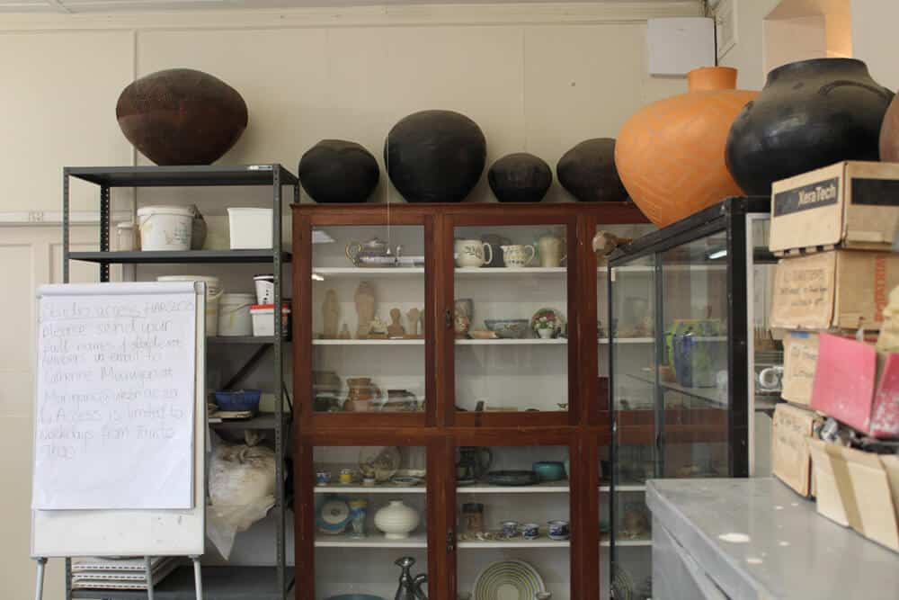 Centre of Visual Arts, ceramics studios. Pietermaritzburg.