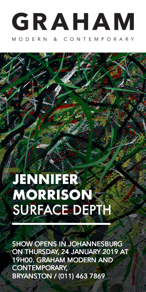 Grahams Fine Art: Jennifer Morrison, Surface Depth. 24 Jan 2019