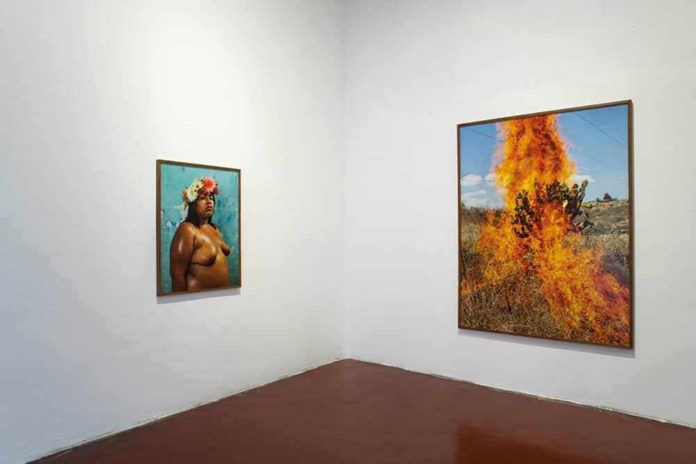 Pieter Hugos' exhibition at Centro Fotográfico Álvarez Bravo. Photographer: Jalil Olmedo.