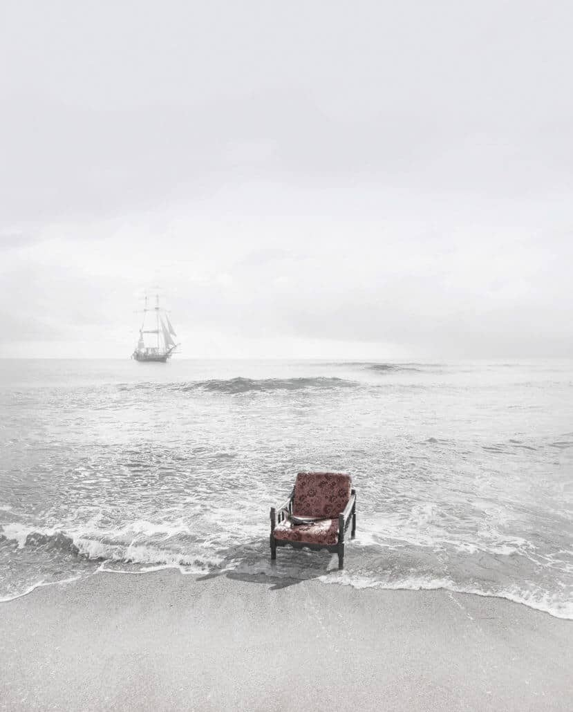 Michael Cook, UNDISCOVERED 8, 2010, INKJET PRINT ON COTTON RAG PAPER