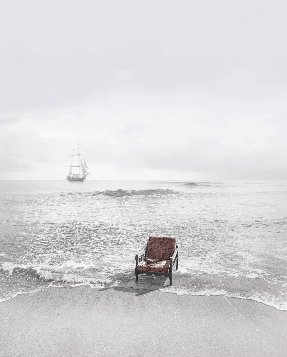Michael Cook, Undiscovered 8, 2010. Inkjet print on cotton rag, 124 x 100cm. Courtesy of the artist & This Is No Fantasy.