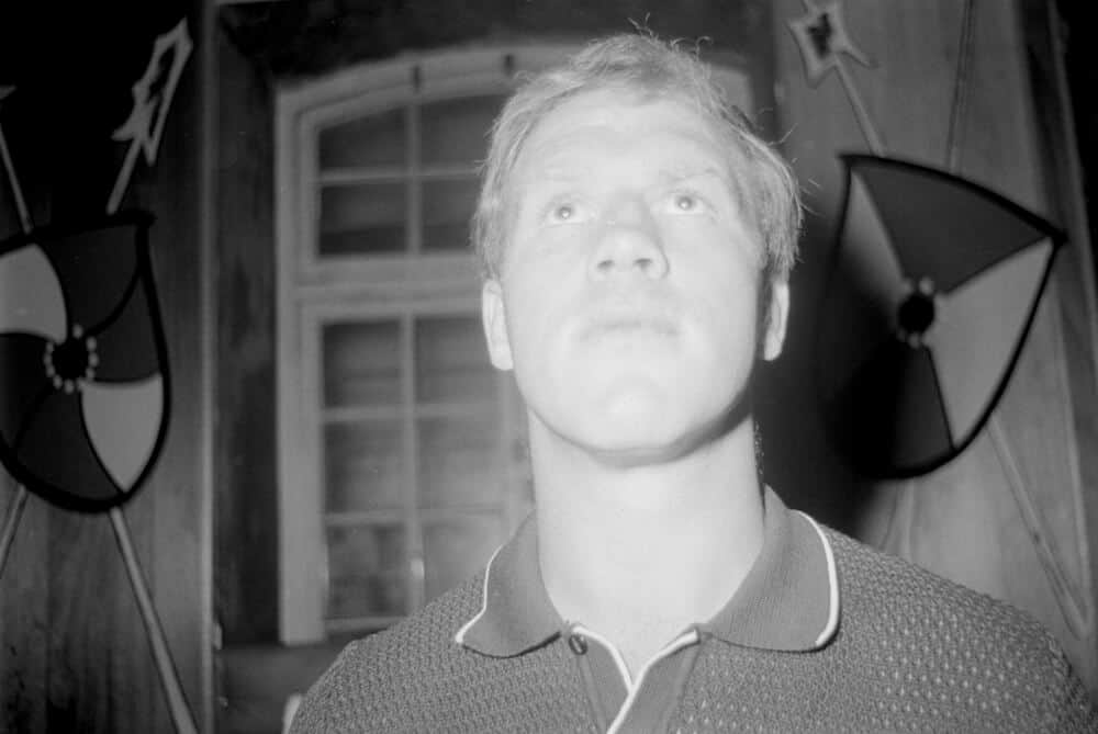 Portrait of Billy Monk.