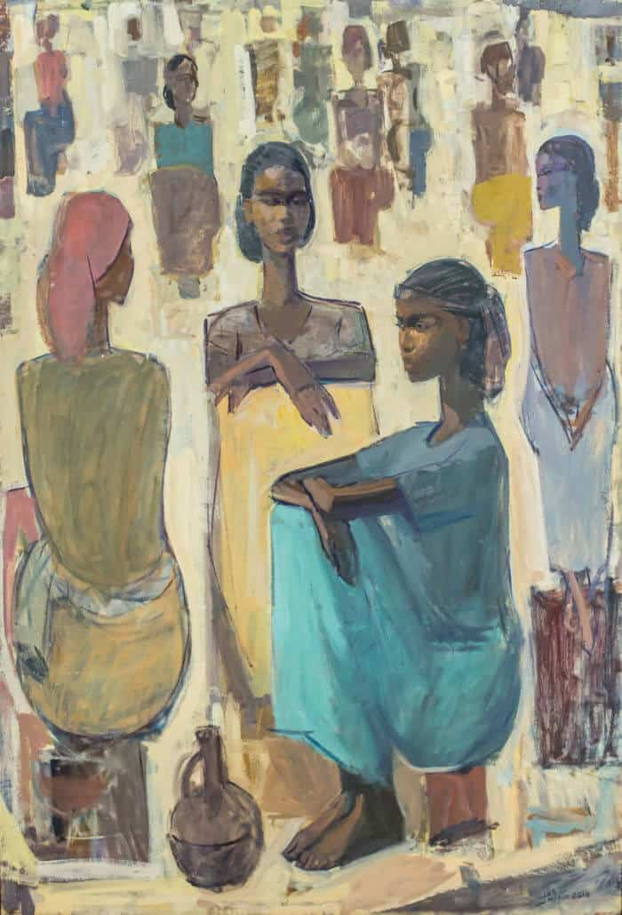 Tadesse Mesfin, Pillars of Life Guleet, 2018. Courtesy of the artists & Addis Fine Art.