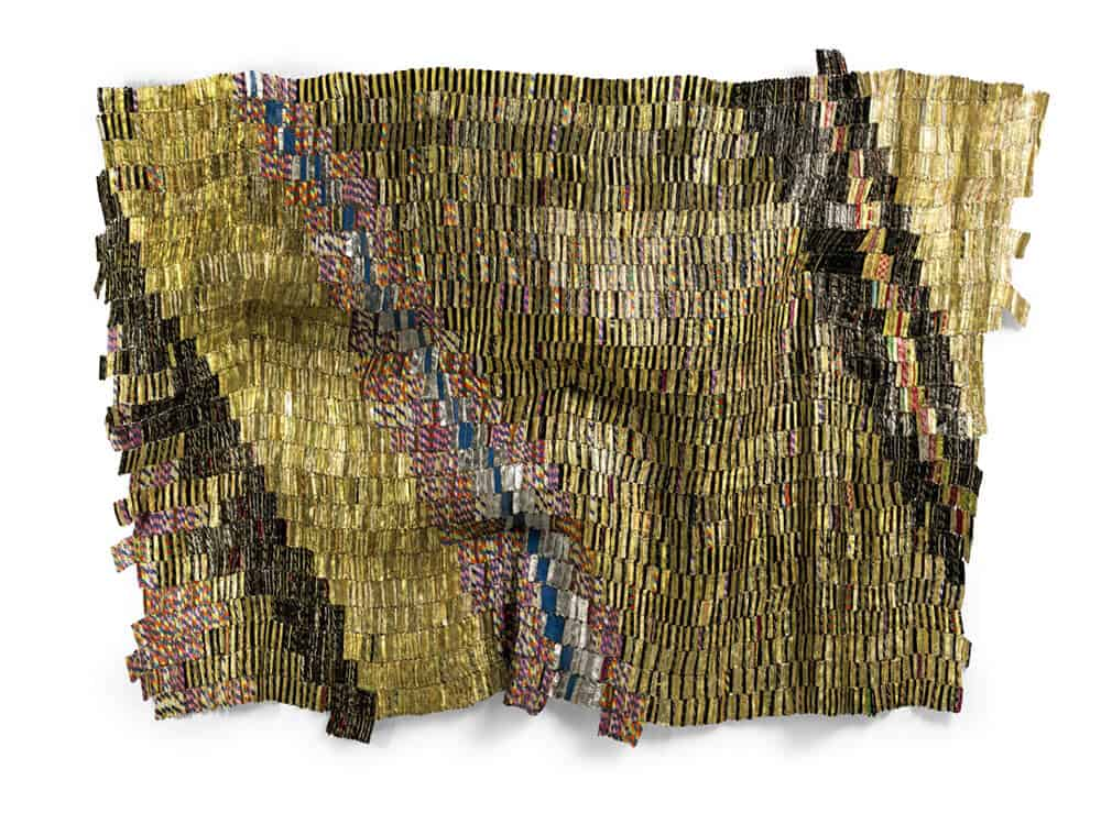 El Anatsui / Zebra Crossing 2 / £550,000 - 750,000 / Copyright: The Artist
