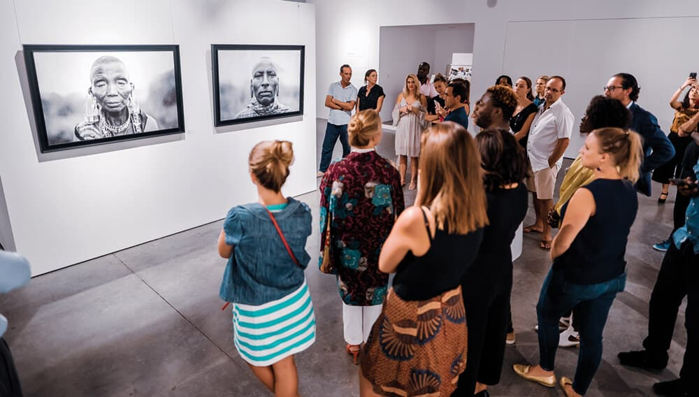 Mostra personale di Mario Macilau, discorso dell'artista.