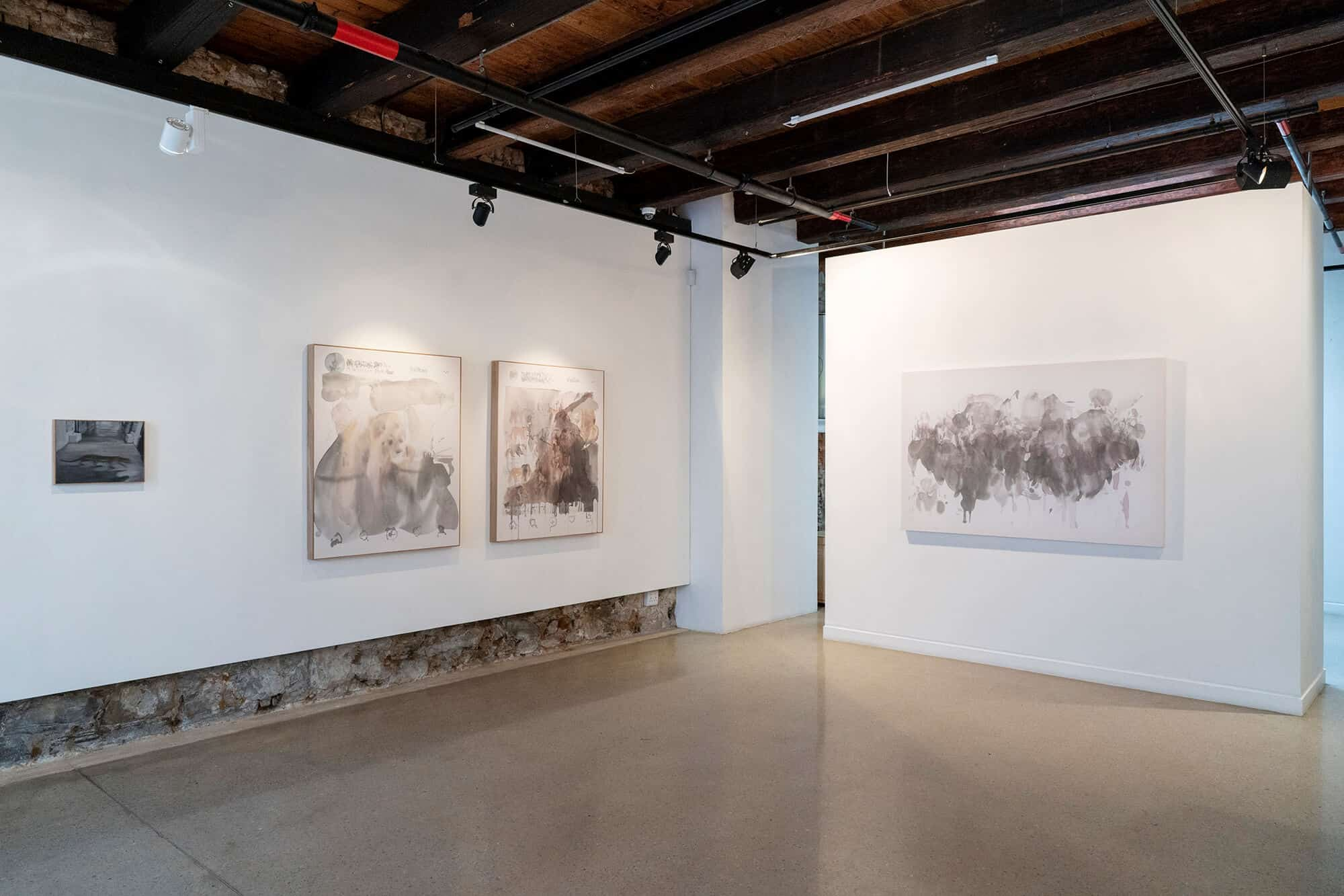 Installation shot of 'Afterimage' at SMITH. Courtesy of SMITH.