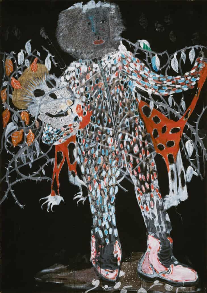 Lot 29: Omara Ba, Untitled, est. £15,000-20,000
