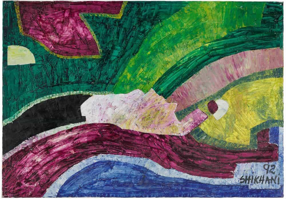 Lot 47: Ernesto Shikhani, Ohne Titel, £ 5,000-7,000