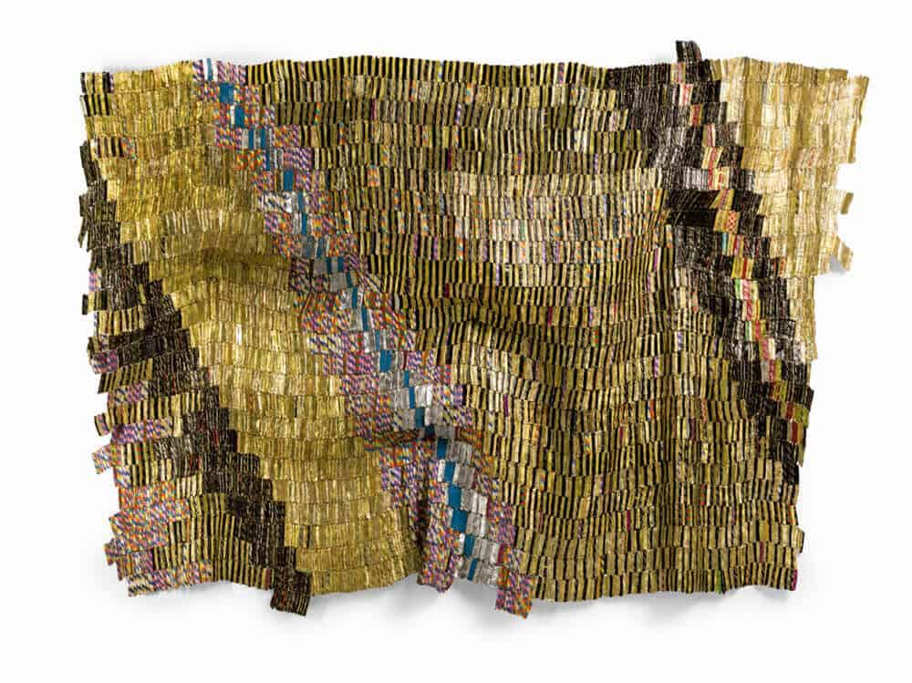 Lot 8: El Anatsui, Zebra Crossing 2, est. £550,000-750,000