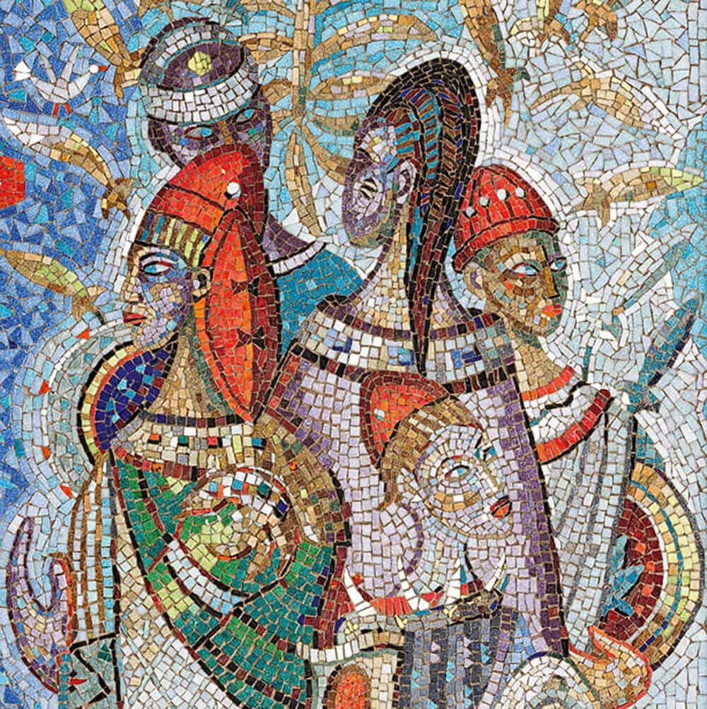Alexis Preller | Mural (detail) | Mosaic | 269 x 86,5cm | R 6 000 000 - 8 000 000