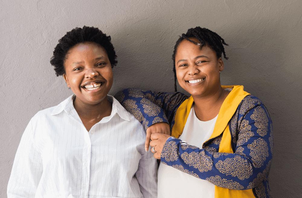 Curators: Nkule Mabaso and Nomusa Makhubu, Photo by Masimba Sasa.