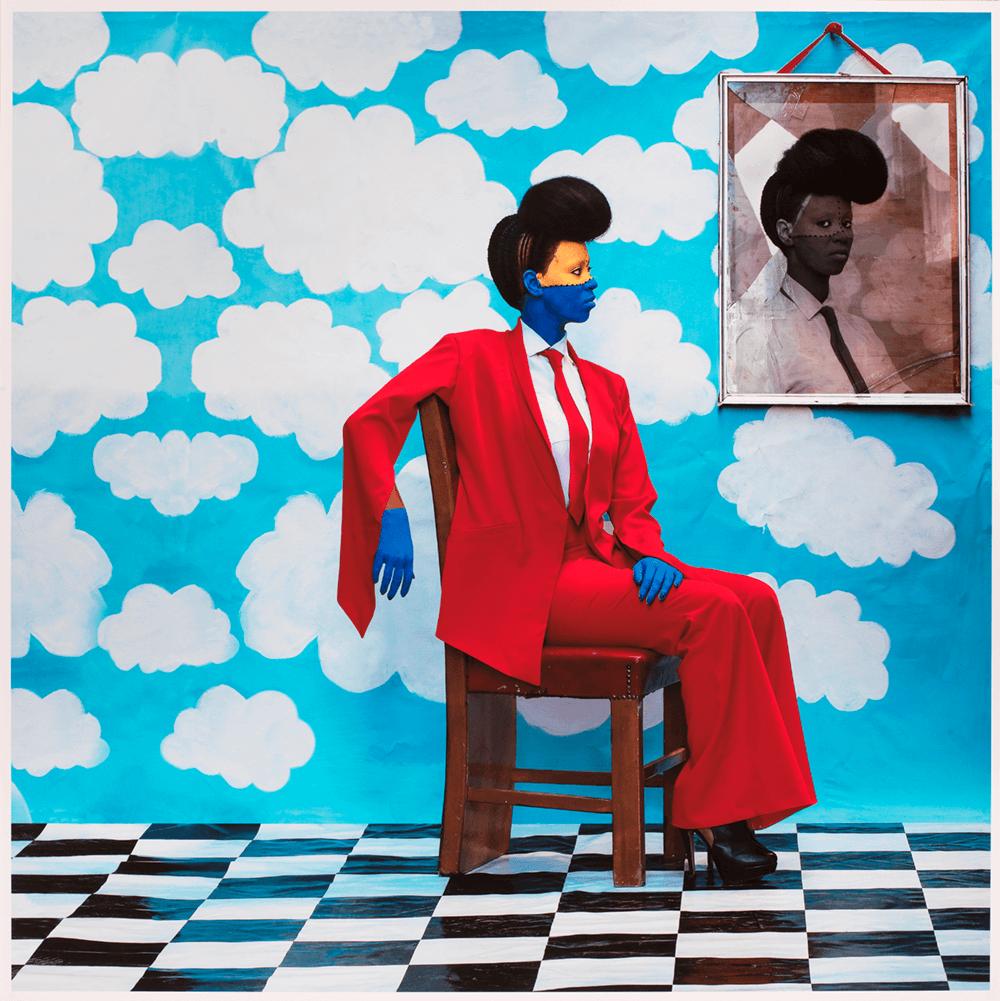 Aida Muluneh, b. 1974, Ethiopia, Sai Mado (The Distant Gaze), 2016. Digital photograph. Museum purchase, 2016-16-2.