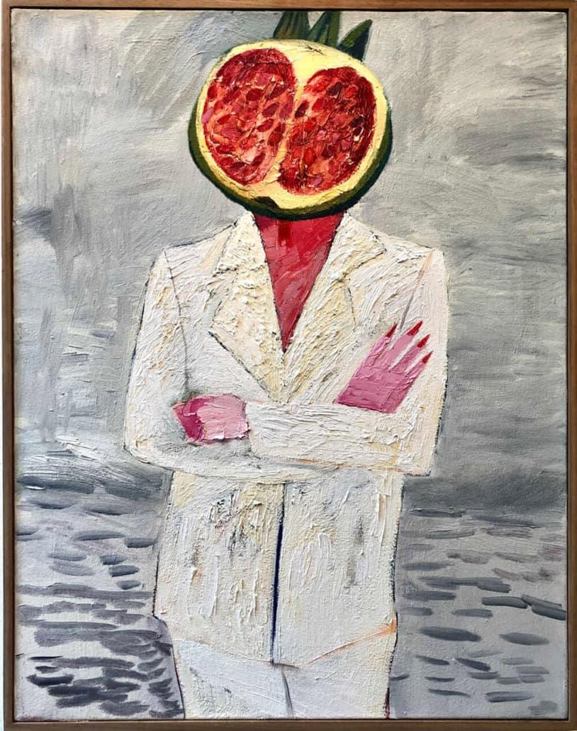 Nabeeha Mohamed, Detox Girl Boss, 2019. Oil on canvas, 72 x 57cm. All images courtesy of SMITH.
