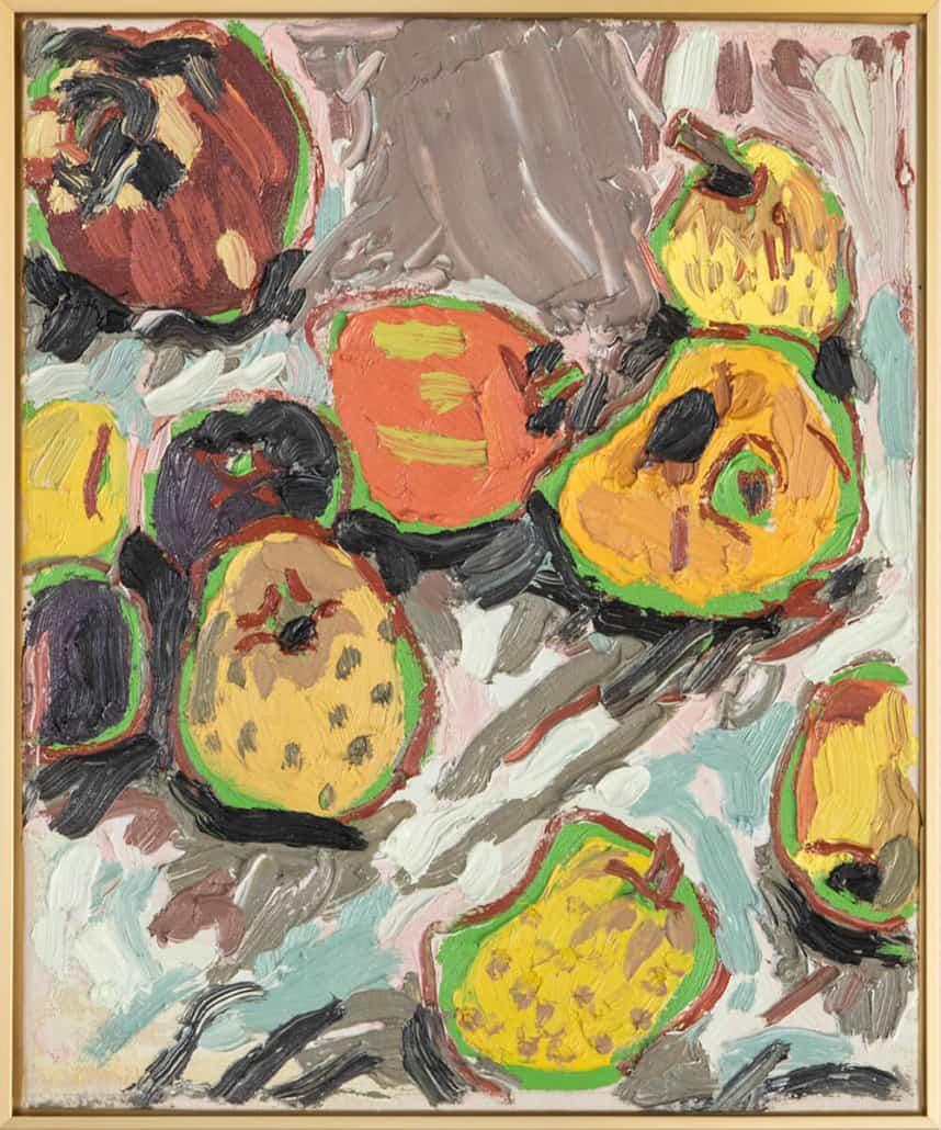 Erin Chaplin, Untitled. Oil on canvas, 40 x 33cm.