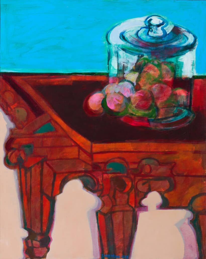 Jan Neethling, Jar and Table, 2018.