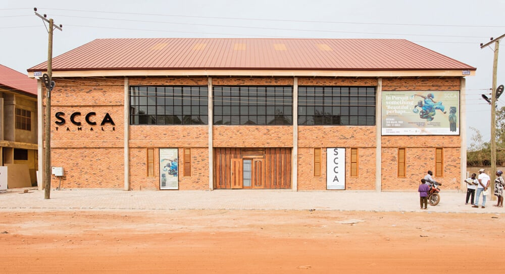 The Savannah Centre for Contemporary Art, Tamale, Ghana. ©SCCA-Tamale