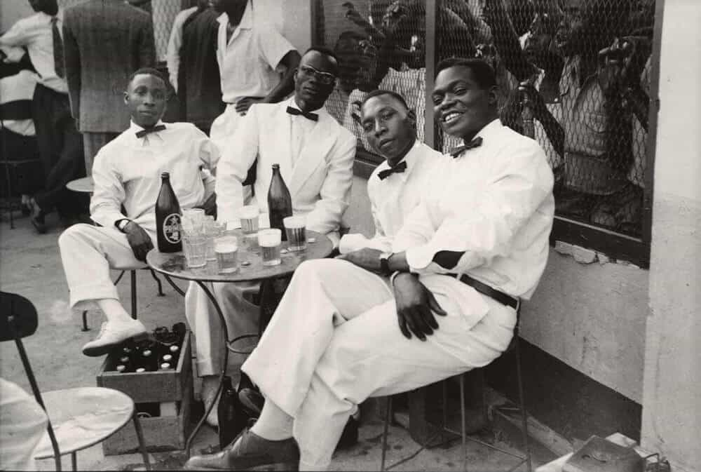 Jean Depara (Congolese, born Angola 1928-1997). Les musiciens (The Musicians). 1975. Gelatin silver print, printed later, 19 11/16 × 23 5/8″ (50 × 60 cm). The Museum of Modern Art, New York. CAAC-The Pigozzi Collection. Gift of Jean Pigozzi, 2019. Photo courtesy The Museum of Modern Art.