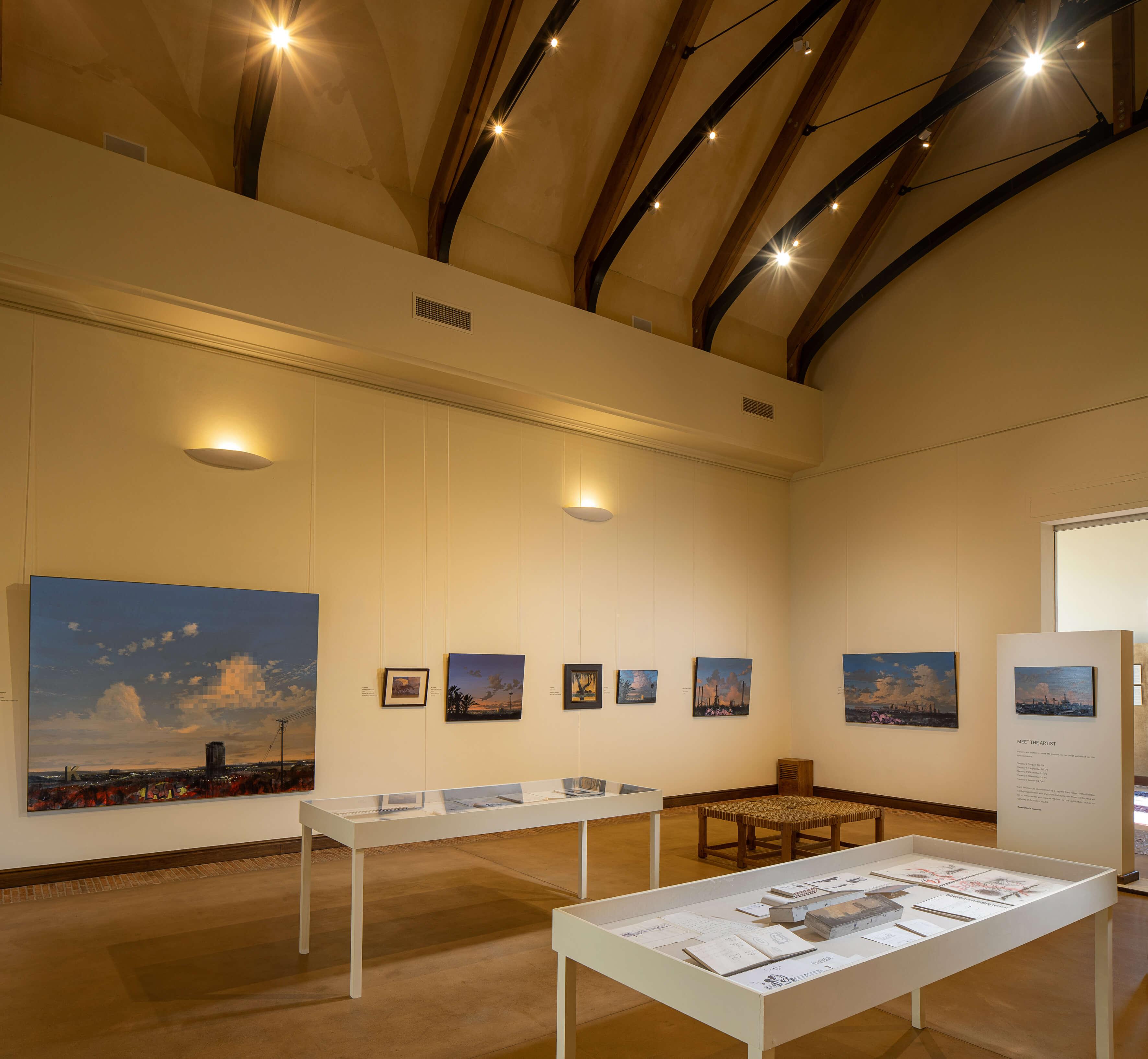 Exposición 'Land Rewoven'. Imagen cortesía del Museo La Motte.
