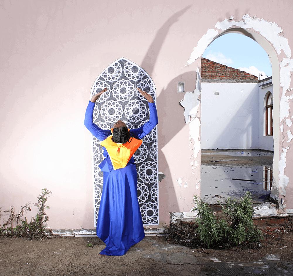 Scott Eric Williams Ausstellung 'Portals' kuratiert von Refilwe Nkomo. Alle Bilder mit freundlicher Genehmigung von UNDERLINE.