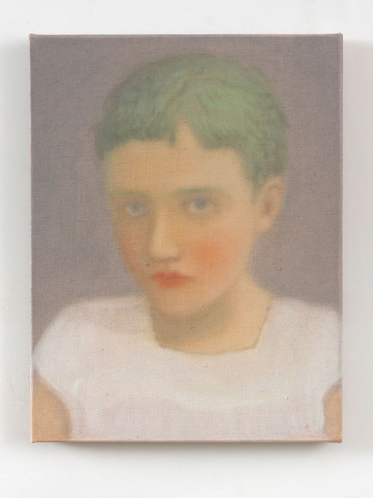 Chechu Álava, Rebel Kid, 2019. Oil on Canvas, 35 x 27cm. Courtesy of the artist & SMAC Gallery.