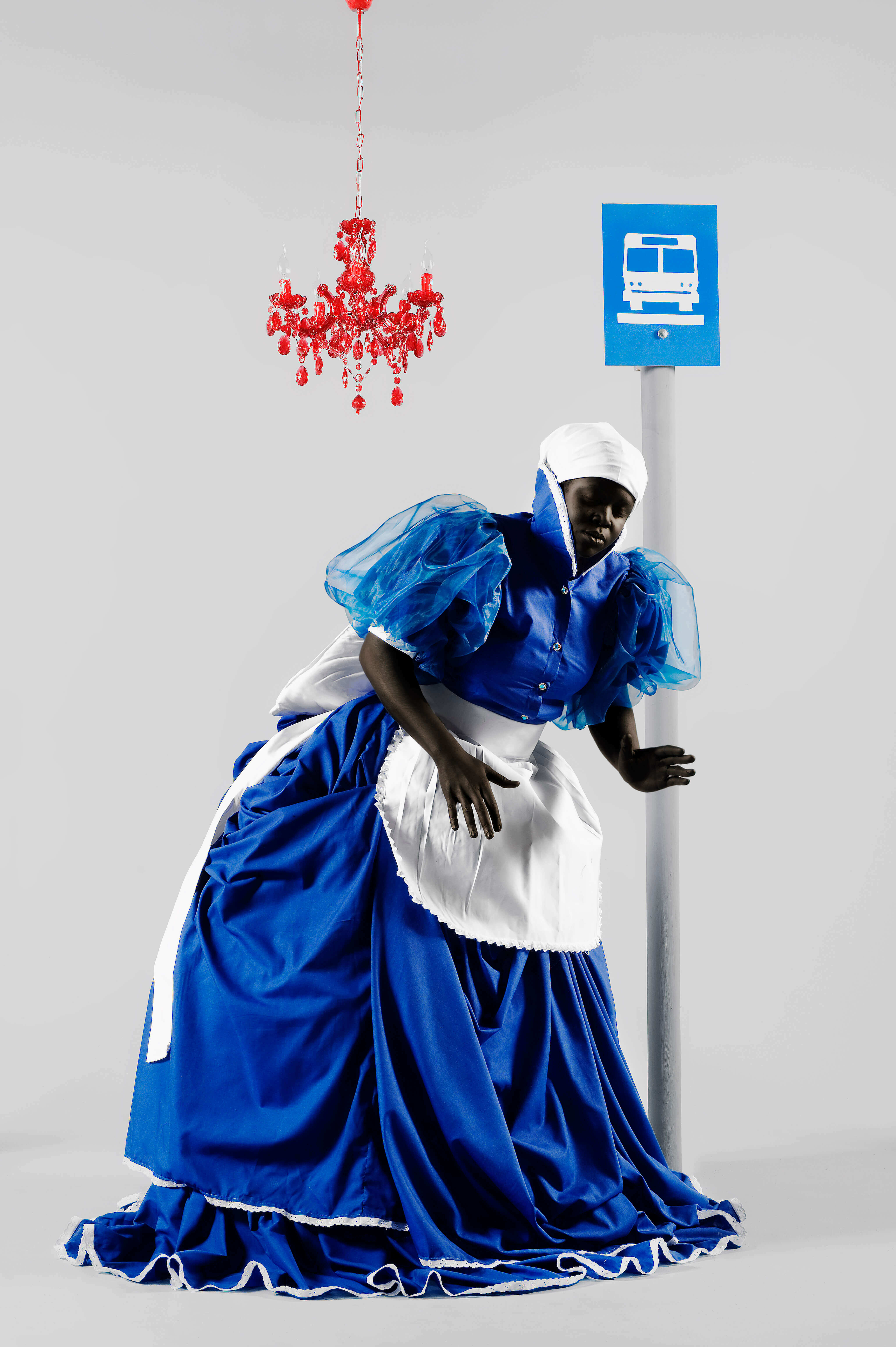 Mary Sibande, The Wait Seems to Go on Forever, 2009. Archival digital print, 90 x 60cm. All images courtesy of SMAC & the artist.