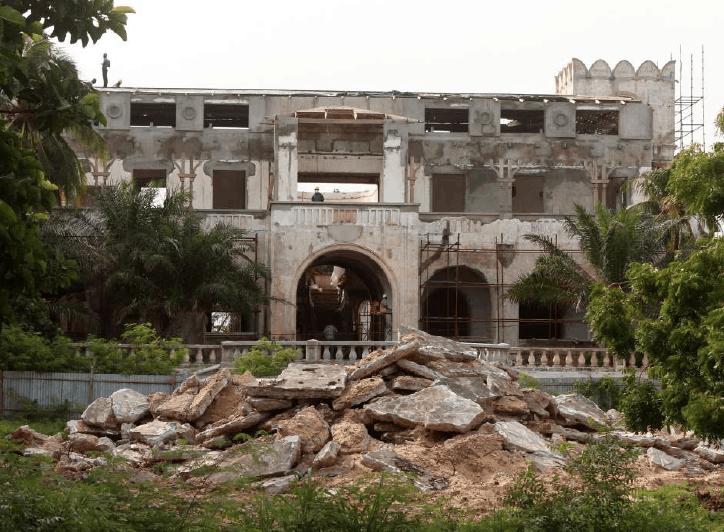 Il Palais prima del restauro © Nicolas Robert