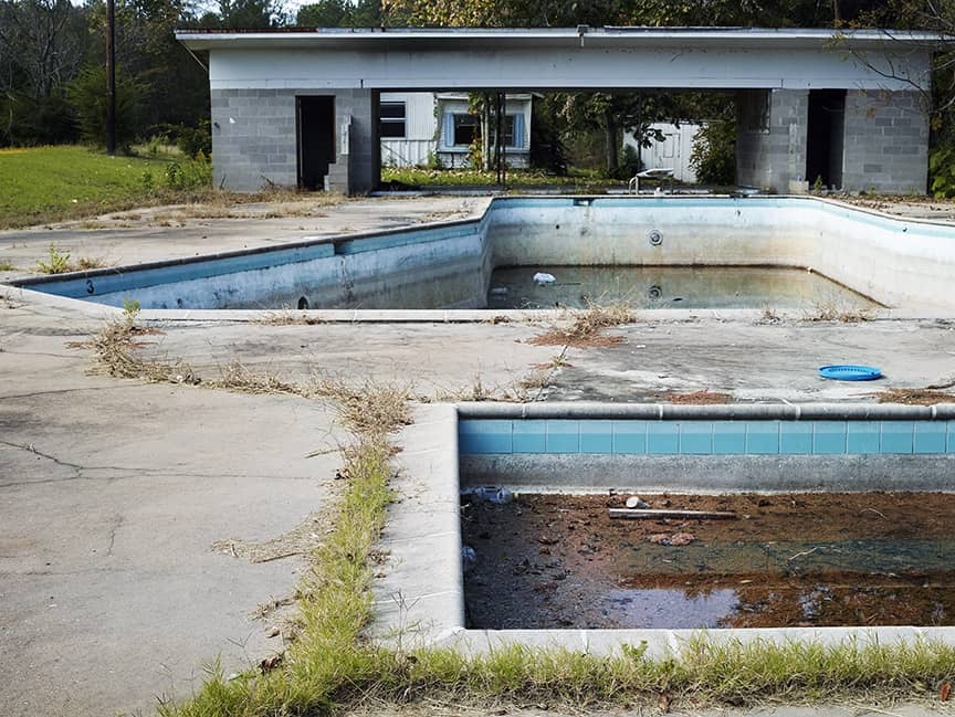 Barry Salzman, The Swimming Pool, 2014.