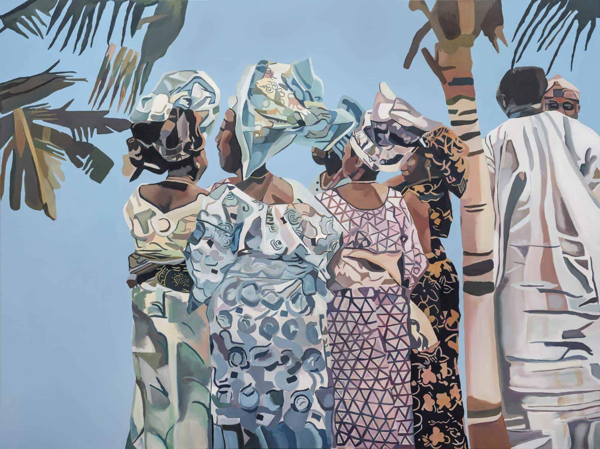 oy Labinjo, Ohne Titel, 2018. Mit freundlicher Genehmigung des Künstlers und Tiwani Contemporary.