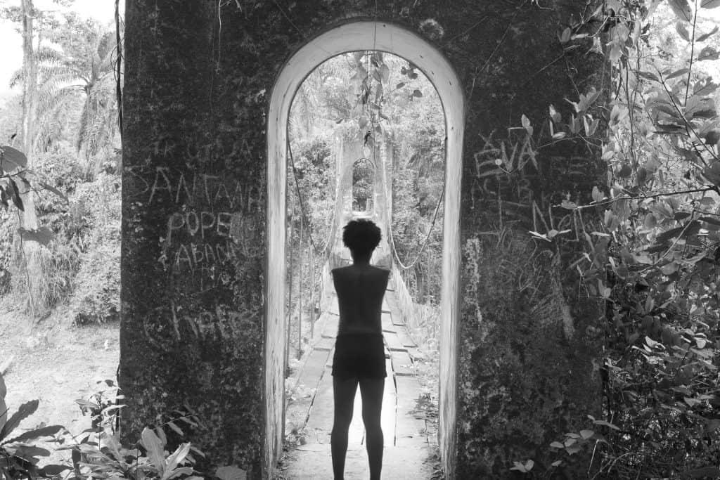 Em'kal Eyongakpa, Untitled 1 (Naked Routes), 2011. Per gentile concessione dell'artista, KADIST & CCA Lagos.