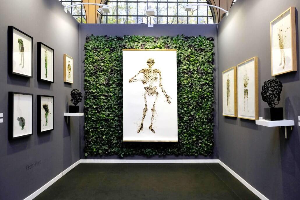"""Installationsansicht von """"Gardens"""" bei AKAA 2019. Alle Bilder mit freundlicher Genehmigung des Künstlers & TINAWC."""